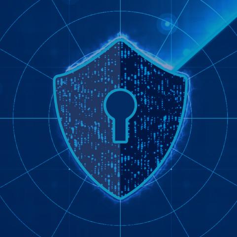 service shield blue shield image