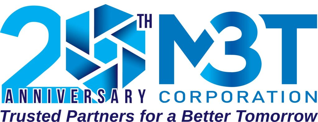 M3T Corporation 20th Anniversary Logo