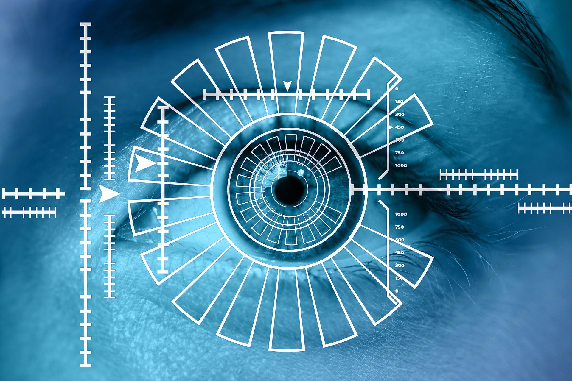 biometric readers iris recognition