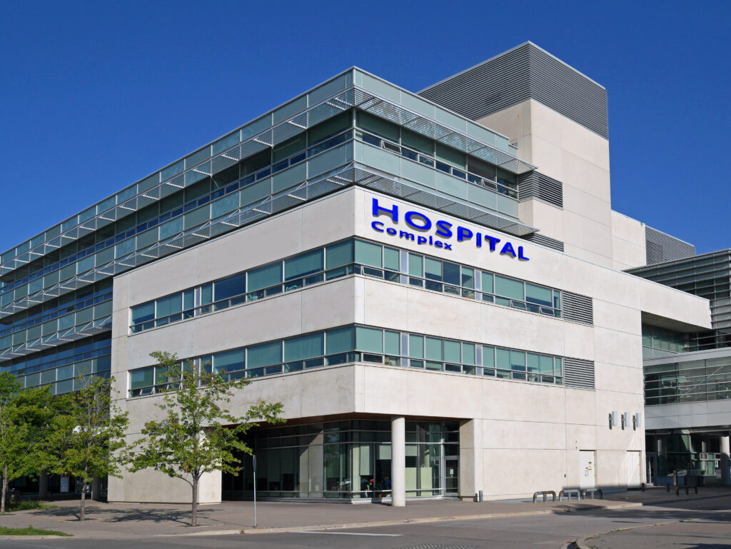 Healthcare industry - hospital