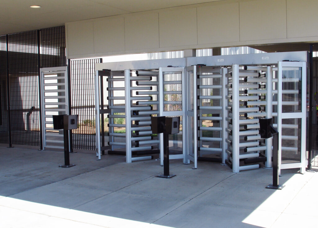 Full height turnstile boon edam