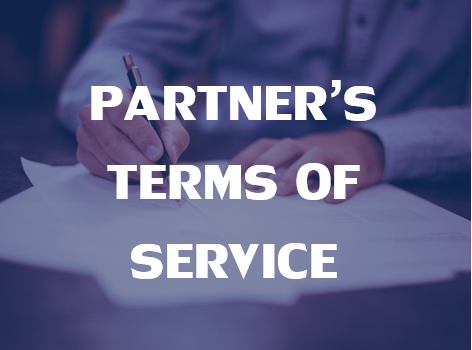 Click here for Partners' Terms of Service.