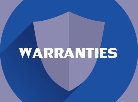 Click here for Warranties.